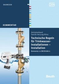 Technische Regeln für Trinkwasser-Installationen