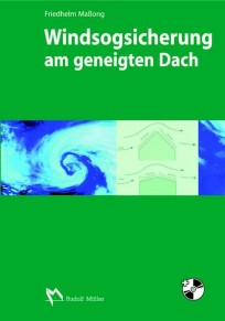 Windsogsicherung am geneigten Dach