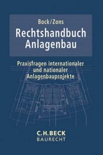 Rechtshandbuch Anlagenbau