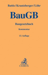 Baugesetzbuch: BauGB Kommentar