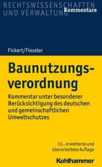 Baunutzungsverordnung (BauNVO), Kommentar