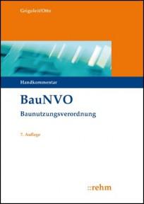 BauNVO - Baunutzungsverordnung Handkommentar