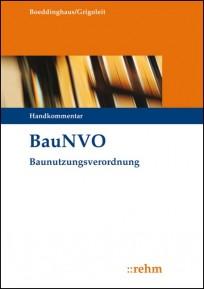 BauNVO - Baunutzungsverordnung Kommentar