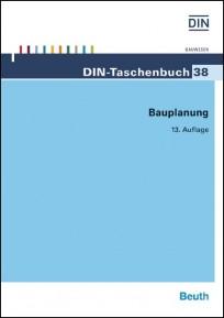 DIN-Taschenbuch 38. Bauplanung