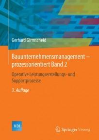 Bauunternehmensmanagement-prozessorientiert Band 2