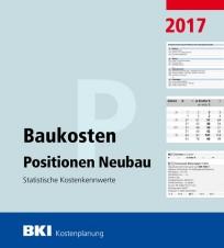 BKI Baukosten Positionen Neubau 2017
