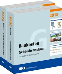 BKI Baukosten Gebäude + Bauelemente Neubau 2018 - Kombi