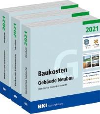 BKI Baukosten Neubau 2021 - Gesamtausgabe