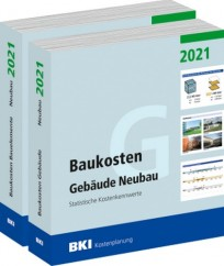 BKI Baukosten Gebäude + Bauelemente Neubau 2021 - Kombi