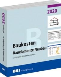 BKI Baukosten Bauelemente Neubau 2020