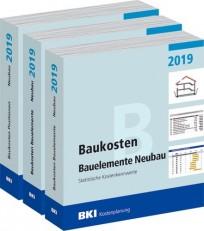 BKI Baukosten Neubau 2019 - Gesamtausgabe