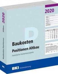 BKI Baukosten Positionen Altbau 2020