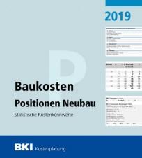 BKI Baukosten Positionen Neubau 2019