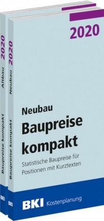 BKI Baupreise kompakt 2020 - Gesamtpaket: Neubau + Altbau