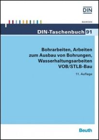 DIN-Taschenbuch 91. Bohrarbeiten