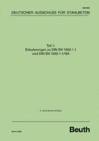 DAfStb Heft 600 - Erläuterungen zu DIN EN 1992-1-1 und DIN EN 1992-1-1/NA