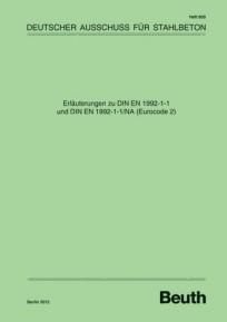 DAfStb Heft 600 - Erläuterungen zu DIN EN 1992-1-1 und DIN EN 1992-1-1/NA (Eurocode 2)