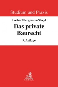 Das private Baurecht