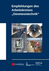 """Empfehlungen des Arbeitskreises """"Geomesstechnik"""""""