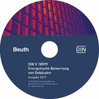 DIN-V 18599 - Energetische Bewertung von Gebäuden. CD-ROM