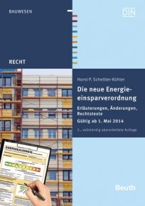 Die neue Energieeinsparverordnung