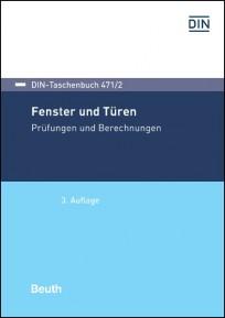 DIN-Taschenbuch 471/2. Fenster und Türen