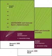 Geotechnik nach Eurocode. Band 1+2 (Paket)