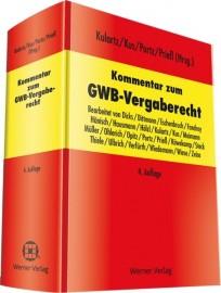 Kommentar zum GWB-Vergaberecht