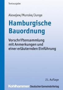 Hamburgische Bauordnung. Textausgabe