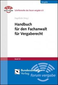Handbuch für den Fachanwalt für Vergaberecht