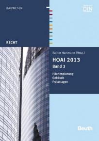HOAI 2013, Band 3