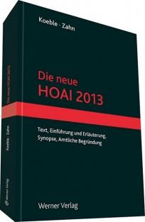 Die neue HOAI 2013
