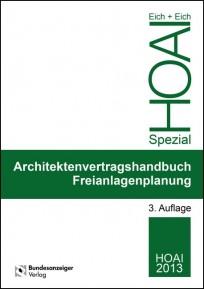Architektenvertragshandbuch Freianlagenplanung