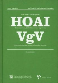 HOAI - VgV Kommentare