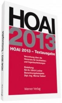 HOAI 2013 Textausgabe