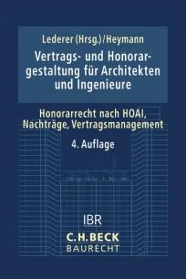 Vertrags- und Honorargestaltung für Architekten und Ingenieure