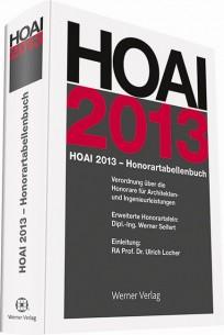 HOAI 2013 - Honorartabellenbuch