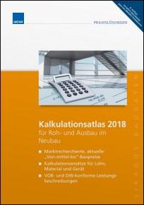sirAdos Kalkulationsatlas 2018 für Roh- und Ausbau im Neubau