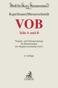 VOB-Kommentar. Teile A und B