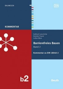 Kommentar zu DIN 18040-2. Barrierefreies Bauen Band 2