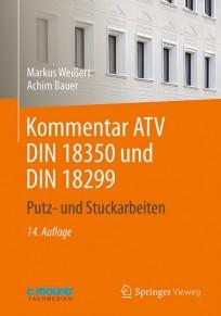 Kommentar ATV DIN 18350 und DIN 18299
