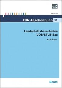 DIN-Taschenbuch 81. Landschaftsbauarbeiten