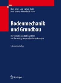 Bodenmechanik und Grundbau