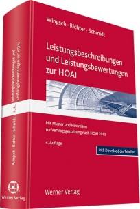 Leistungsbeschreibungen und Leistungsbewertungen zur HOAI