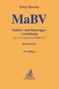 Makler- und Bauträgerverordnung. MaBV-Kommentar