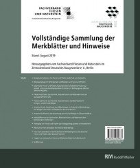 Vollständige Sammlung der Merkblätter und Hinweise des Fachverbands Deutsches Fliesengewerbe