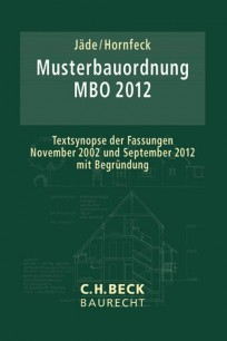 Musterbauordnung MBO 2012