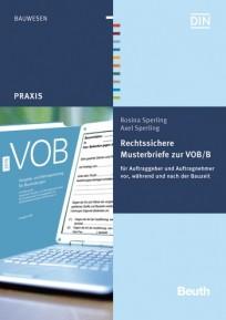 Rechtssichere Musterbriefe zur VOB/B