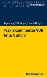 Praxiskommentar VOB. Teile A und B