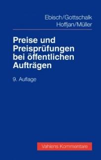 Preise und Preisprüfungen bei öffentlichen Aufträgen. Kommentar